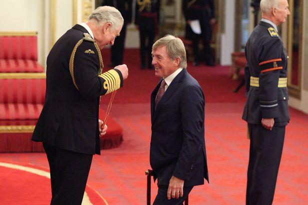 Video: Arise, Sir Kenny!