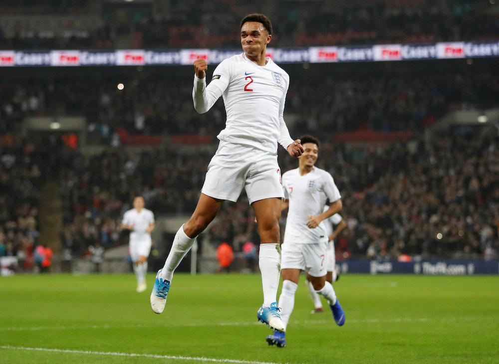 Video: Första målet för England