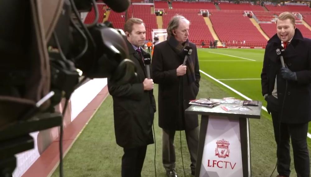 Video: Inside Anfield mot Palace