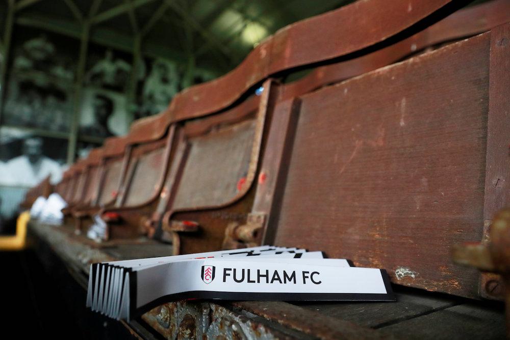 Laget mot Fulham!