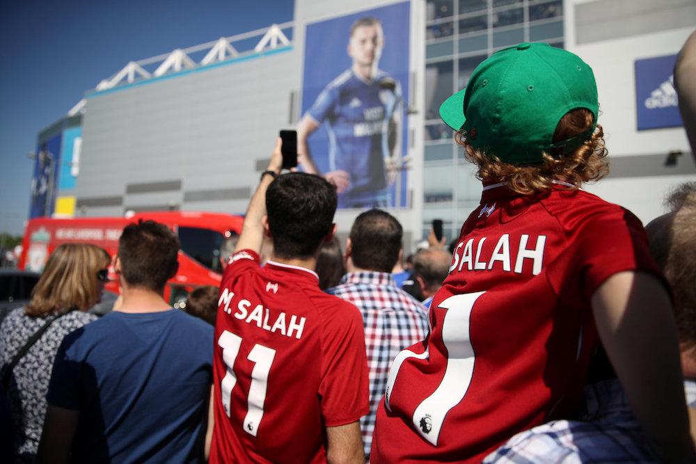 Laget mot Cardiff