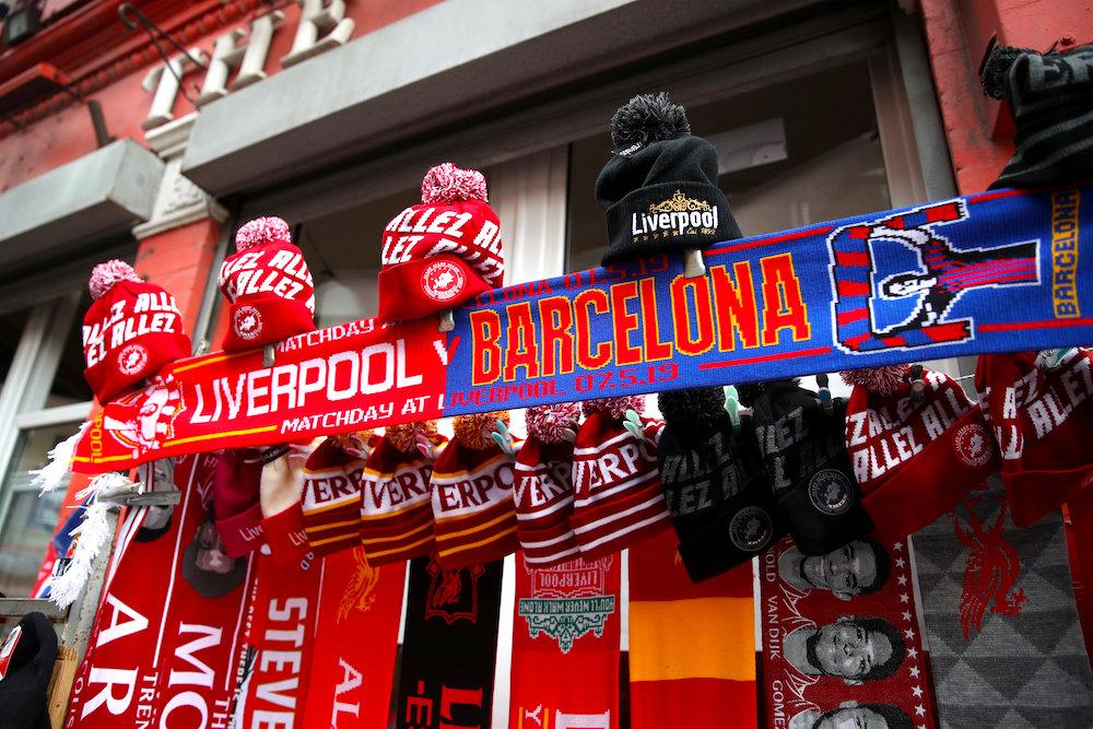 Laget mot Barcelona!