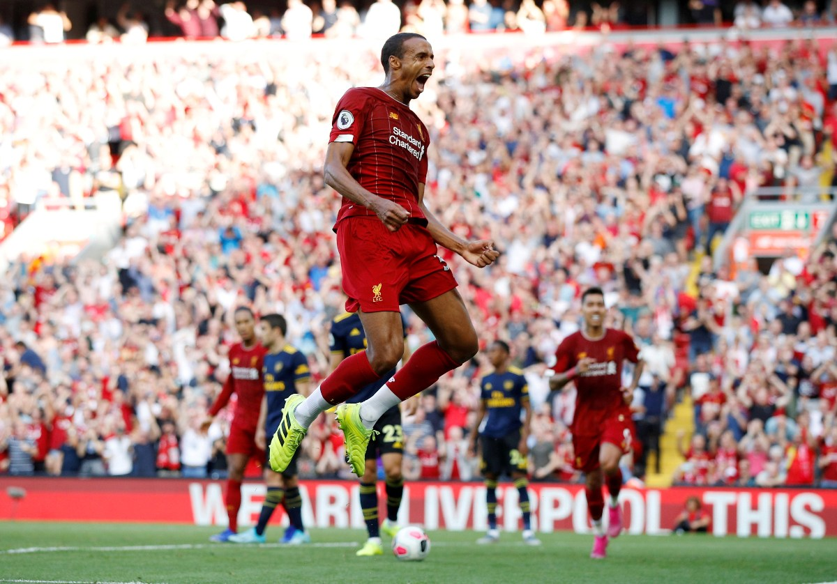 Tävlingen Liverpool - Arsenal rättad