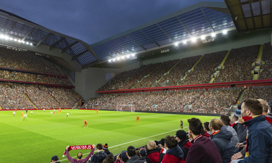 Så blir nya Anfield Road End