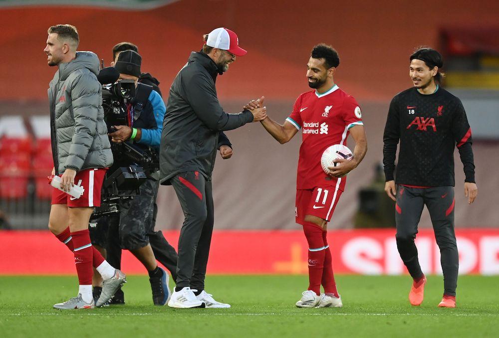 Tror inte spekulationerna stör Salah