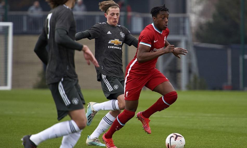Förlust mot United för U18