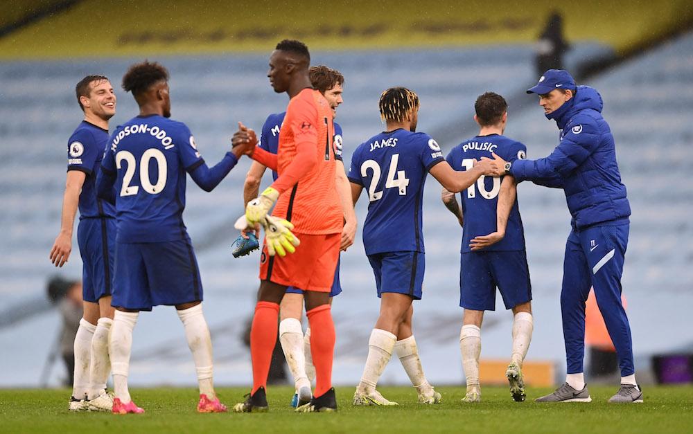 Chelsea upp på tredjeplats