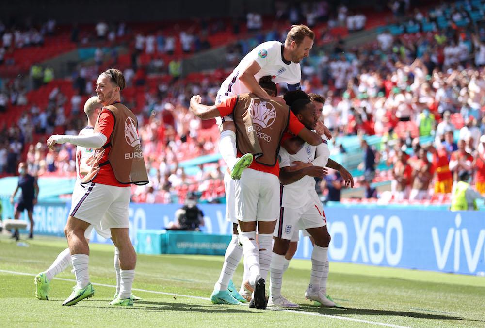 Sterling matchvinnare för England